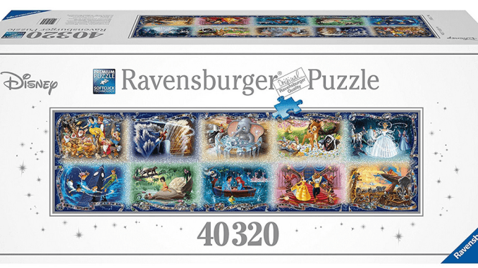 Ravensburger 40,320-Piece Disney Puzzle Review