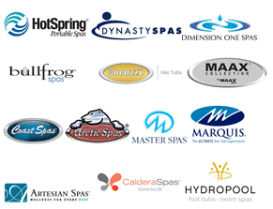 natoinal hot tub manufacturers logo