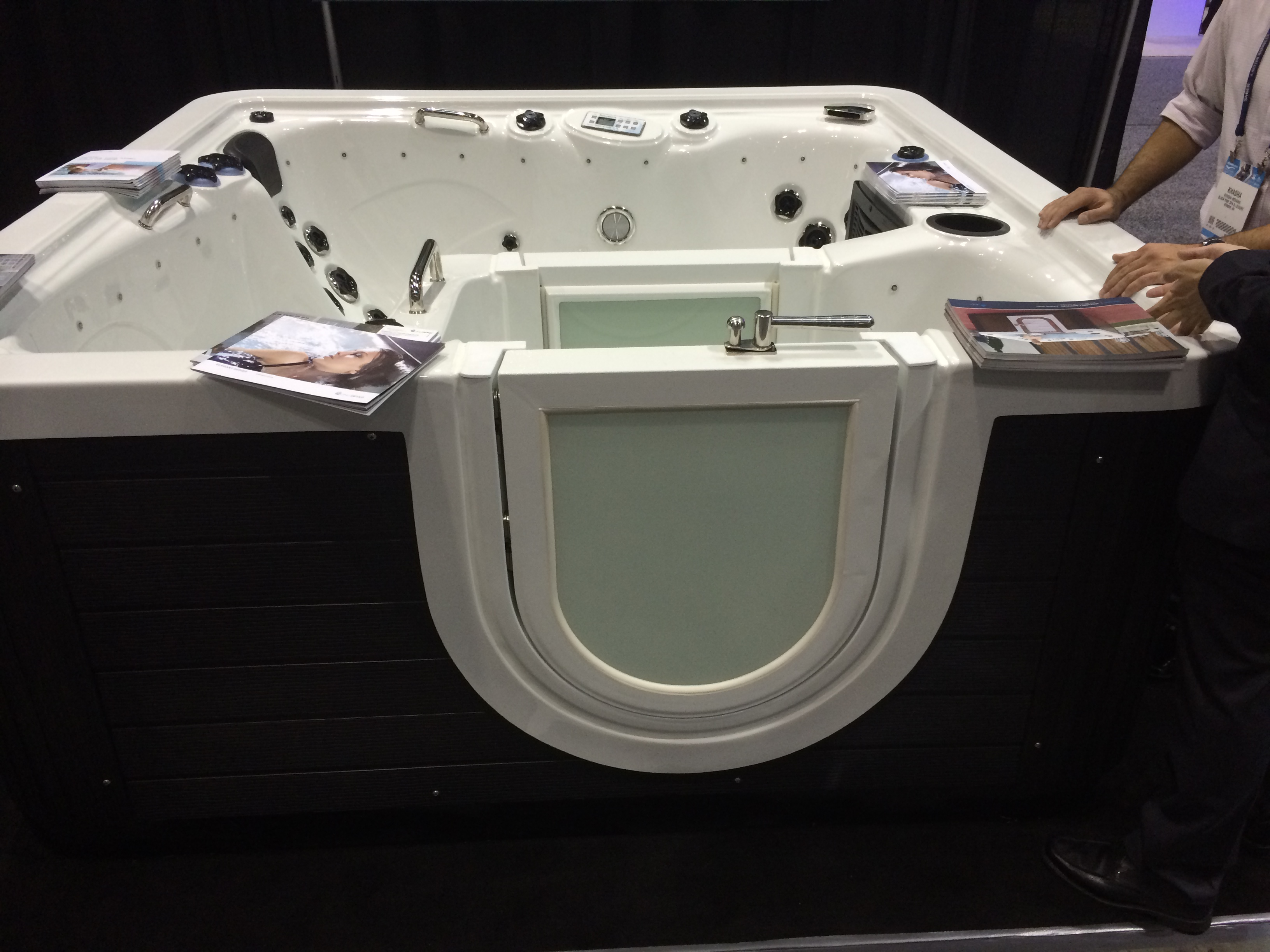 Walk In Hot Tub.Walk In Portable Hot Tubs Coming Soon Hot Tub Insider