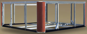 Steel Frame Hot Tub
