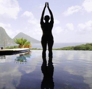 hot tub yoga exercises