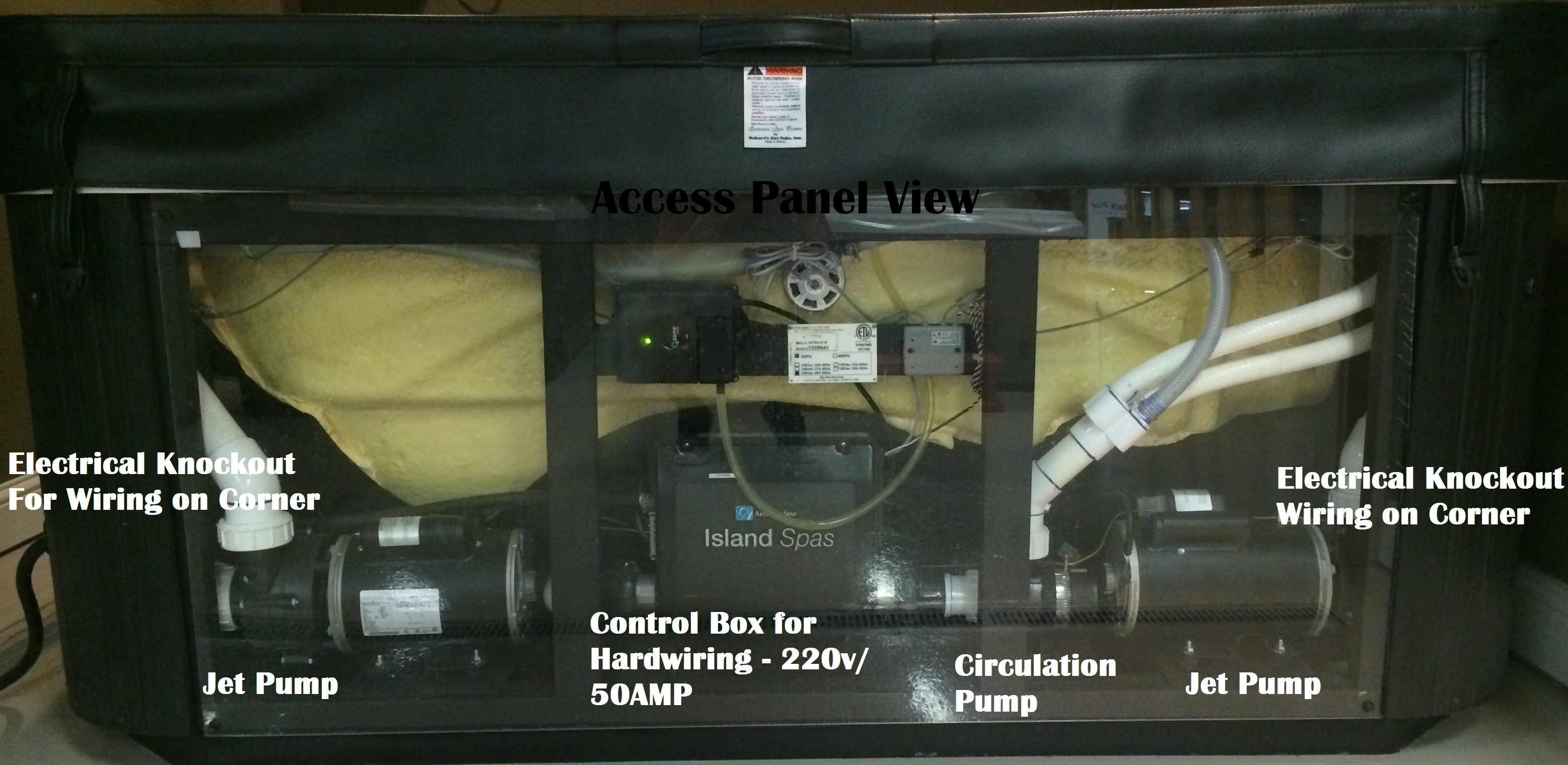 Hot Tub Wiring Cost