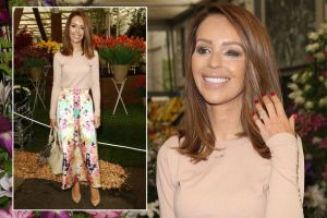 Katie Piper looks amazing at Chelsea Flower Show after undergoing throat surgery last week – 3am & Mirror Online