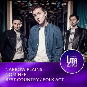 Narrow Plains – Unsigned Music Award nominees