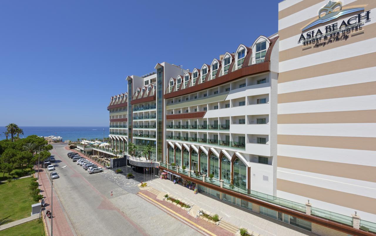 Фото нового отеля в Турции Asia Beach Resort & Spa Hotel 5* Алания, расположение