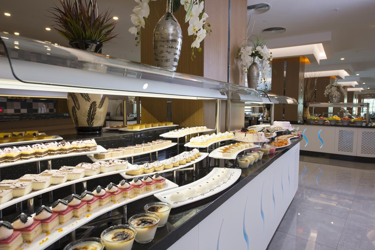 Фото нового отеля в Турции Asia Beach Resort & Spa Hotel 5* Алания, питание