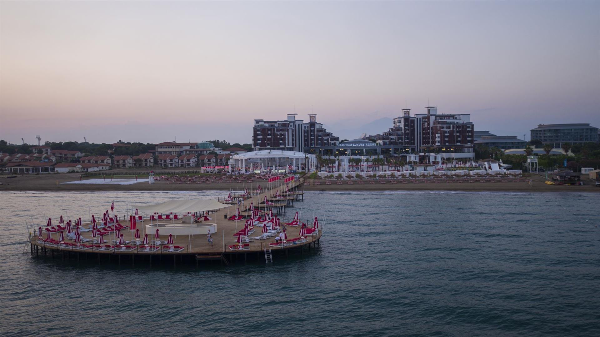 Фото нового отеля Турции Selectum Luxury Resort Belek 5* , море и пляж