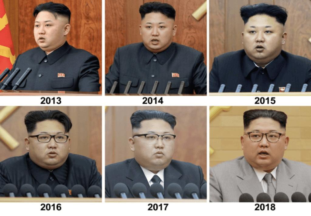 金正恩、太った比較