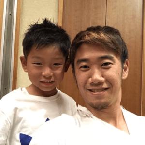 香川真司、甥っ子、麻美