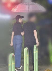 宮澤智アナが熱愛彼氏とがっちり腕組み