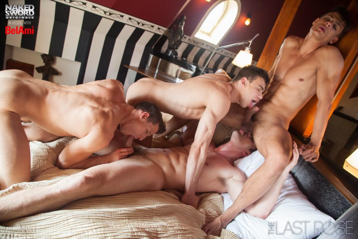 The Last Rose - Ryan Rose Group Scene