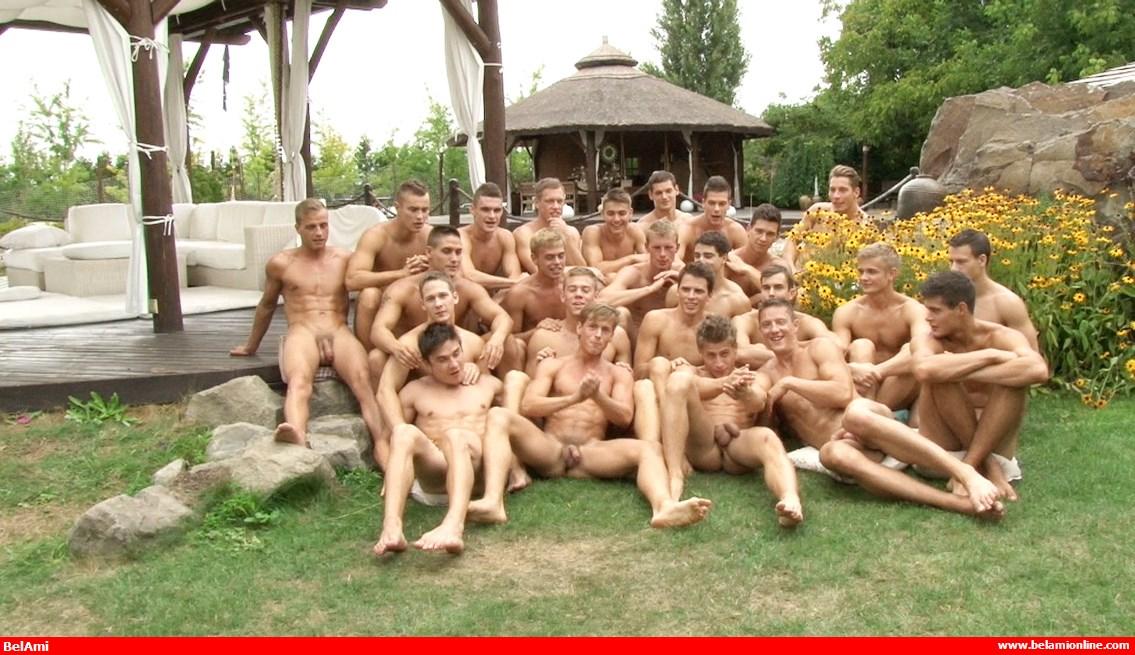 BelAmi-Classics: 24 Boys Bareback Orgy – Prelude