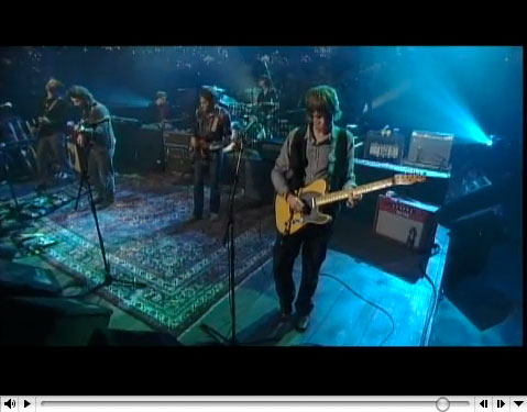 Wilco at Austin city Limits, click to see the (quicktime) movie