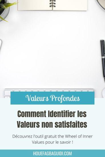 Identifier les valeurs non satisfaites pour focaliser ses premières actions - E016 1