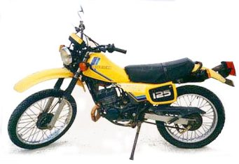 First bike I used for an enduro. It was terrible, unreliable, but it took a beating and could be fixed with wire and chewing gum