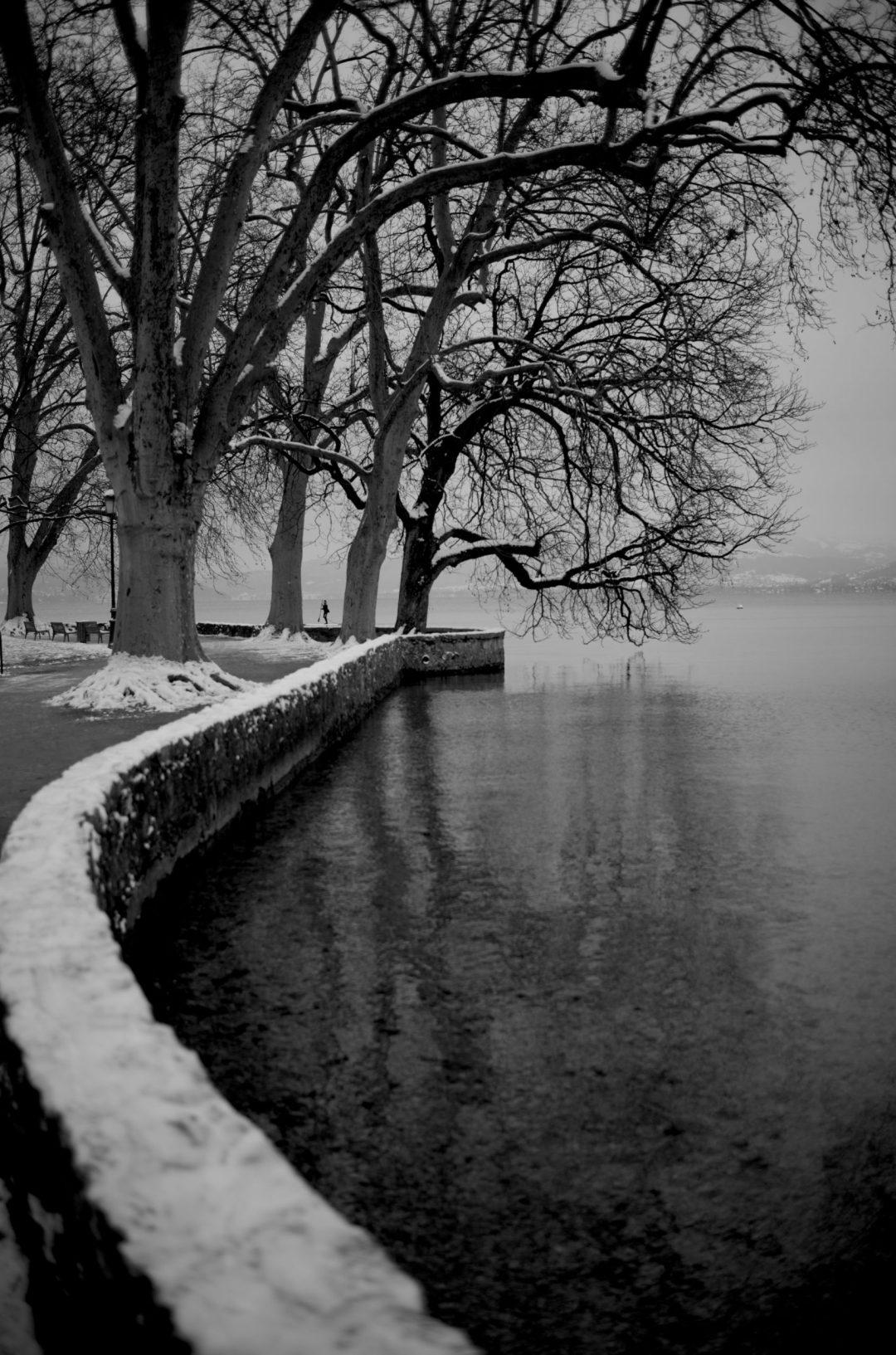 Les bords du lac d'Annecy