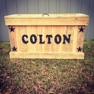 Little Cowboy's Toy Box