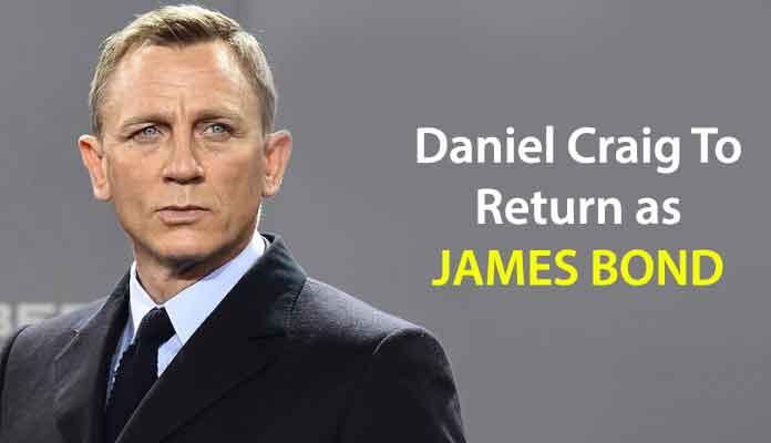 Daniel Craig to Return as James Bond