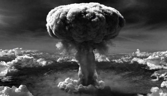 Bomb dropped on Hiroshima