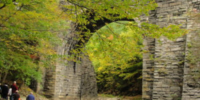 RR Arch, Becket-by Diane Cote