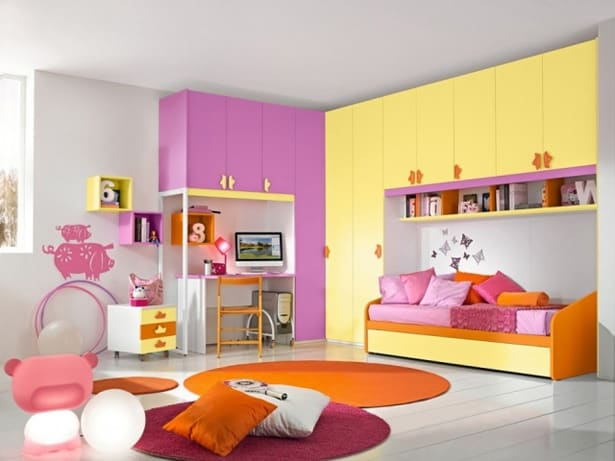 Kids Design Room Interior