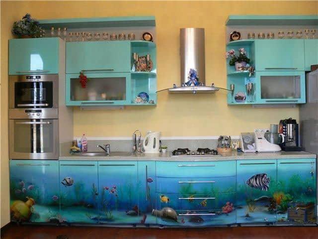 Kitchen Decorating Ideas Walls