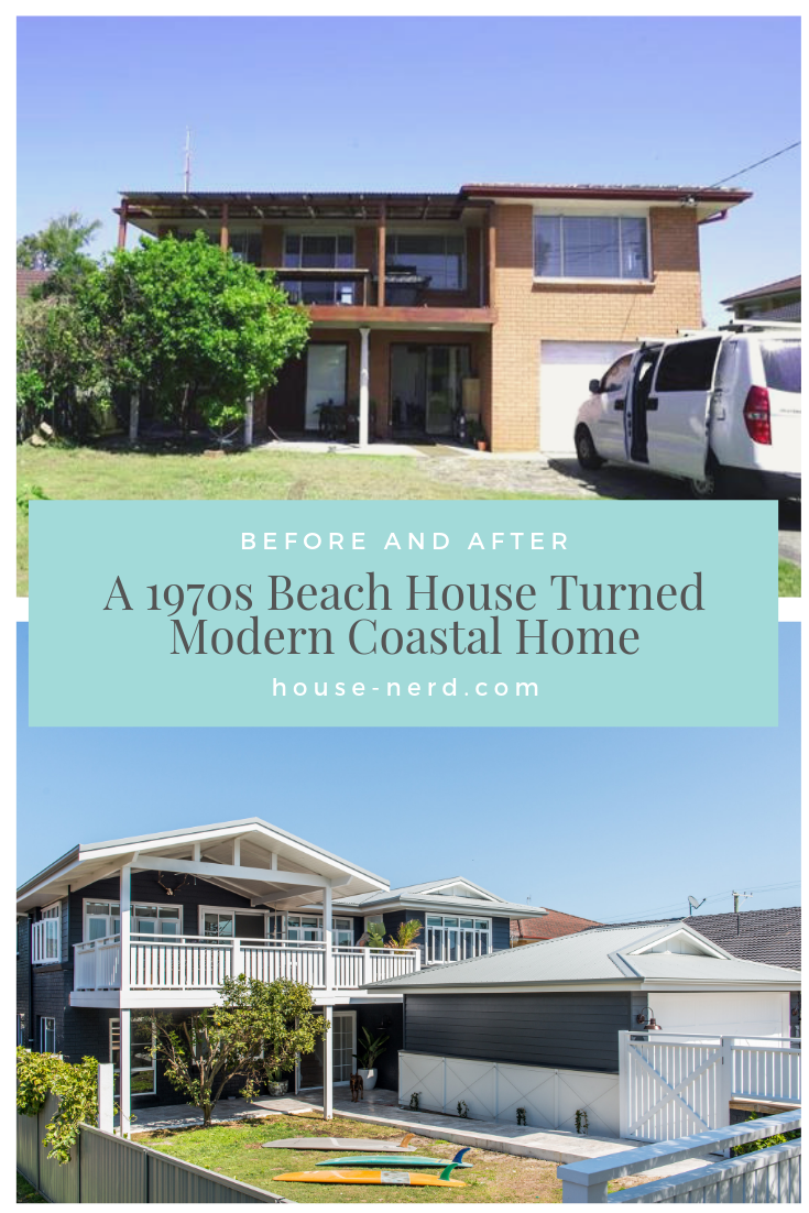 From 70s Brick Box To Timeless Beach House House Nerd