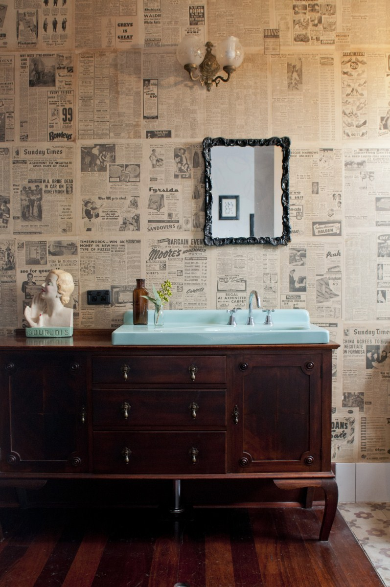 recycled-wallpaper-newspapers-house-nerd-etica-studio-how-to-make-DIY-wallpaper