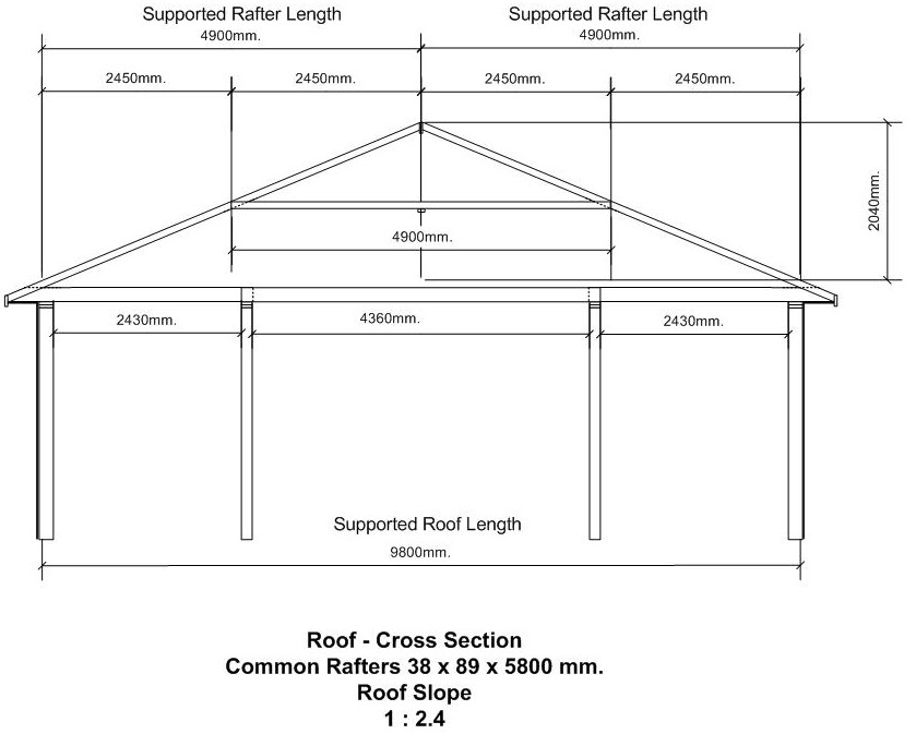 Steel Roof Truss Design Calculator Plans Height Interior How To