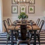 40 Adorable Farmhouse Dining Room Design and Decor Ideas (3)