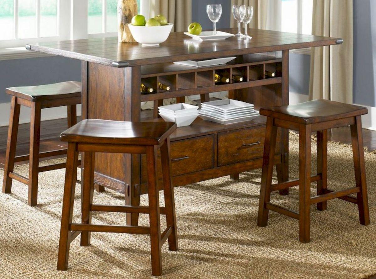 40 Adorable Farmhouse Dining Room Design and Decor Ideas (36)