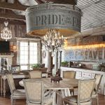 40 Adorable Farmhouse Dining Room Design And Decor Ideas (4)