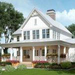 46 Awesome Farmhouse Home Exterior Design Ideas (43)
