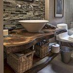 60 Stunning Farmhouse Bathroom Decor and Design Ideas (7)