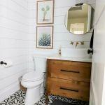 60 Stunning Farmhouse Bathroom Decor and Design Ideas (9)