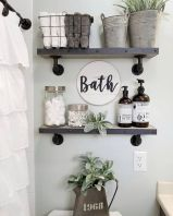 50 Awesome Wall Decoration Ideas for Bathroom (43)