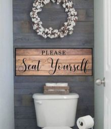 50 Awesome Wall Decoration Ideas for Bathroom (6)