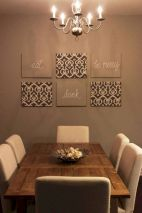 50 Awesome Wall Decoration Ideas for Dinning Room (18)