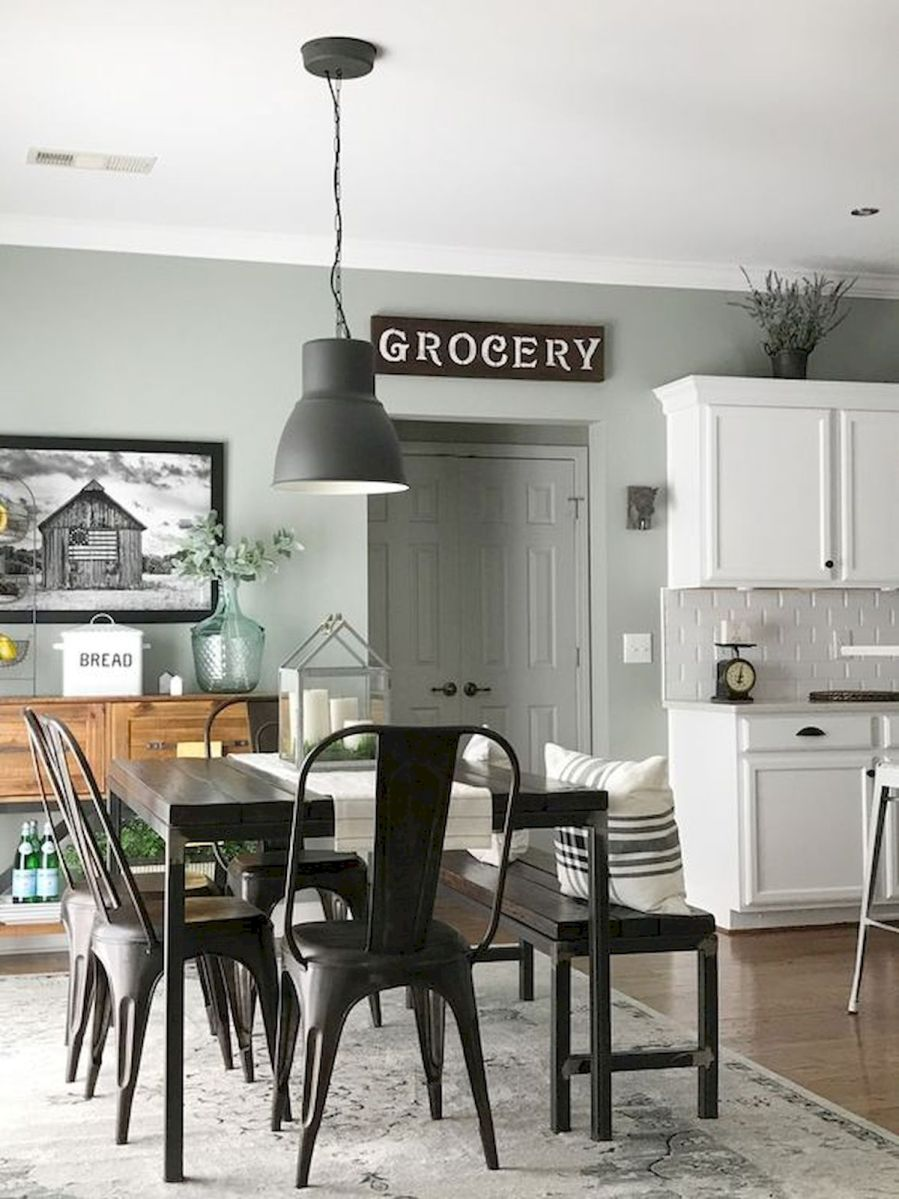 50 Awesome Wall Decoration Ideas for Dinning Room (19)