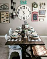 50 Awesome Wall Decoration Ideas for Dinning Room (26)