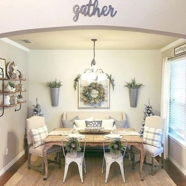 50 Awesome Wall Decoration Ideas for Dinning Room (50)