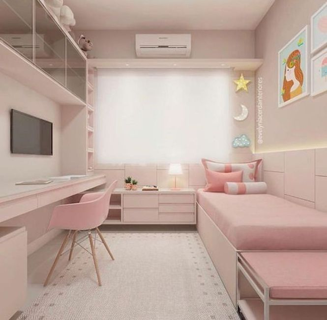 45 Awesome Small Apartment Bedroom Design And Decor Ideas