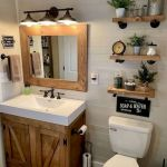 50 Brilliant Storage Design Ideas for Small Bathroom To Make It Look Spacious (9)