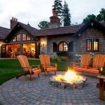 55 Awesome Backyard Fire Pit Ideas For Comfortable Relax (16)