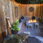 55 Awesome Backyard Fire Pit Ideas For Comfortable Relax (34)