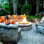 55 Awesome Backyard Fire Pit Ideas For Comfortable Relax (36)