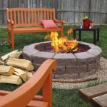 55 Awesome Backyard Fire Pit Ideas For Comfortable Relax (45)