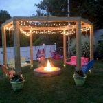 55 Awesome Backyard Fire Pit Ideas For Comfortable Relax (8)