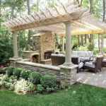 60 Awesome Backyard Privacy Design and Decor Ideas (40)