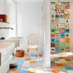 65 Gorgeous Colorful Bathroom Design And Remodel Ideas (32)